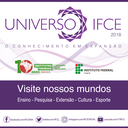 Cartaz do Universo IFCE 2018